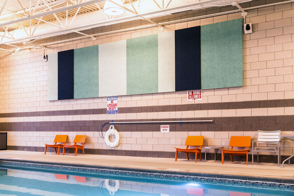 Acoustic Panels Pool